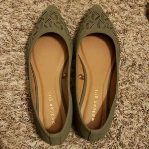 06ee55a51 Madden Girl Shoes | New Ballet Flats Lace Up Dusty Rose | Poshmark
